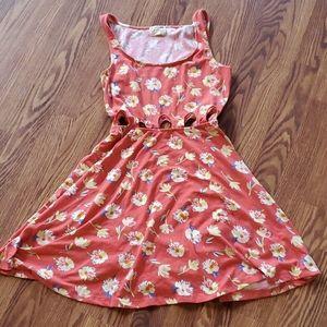 La hearts dress Sleeveless